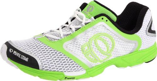 Pearl iZUMi Men's Streak II Running Shoe,White/Silver,11 M US