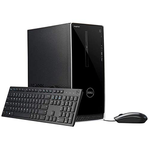 (Dell Inspiron 3000 2019 Flagship Business Desktop, Intel Quad-Core i5-7400 up to 3.5GHz 12GB DDR4 128GB SSD DVD Burner HDMI 802.11bgn Bluetooth 4.0 MaxxAudio USB Keyboard & USB Mouse Win 10 Pro)