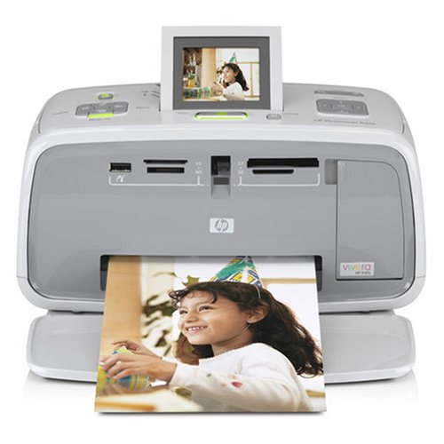 HP Photosmart A616 Compact Photo Printer 4800 DPI (Q7112AABA) by Hewlett Packard