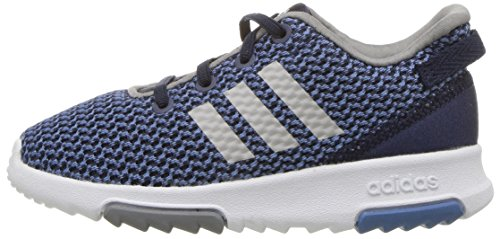 adidas Kids CF Racer TR Running Shoe, Collegiate Navy/Collegiate Navy/Grey, 7K M US Toddler by adidas (Image #5)