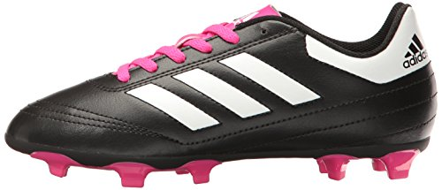 Pictures of adidas Kids' Goletto VI J Firm Ground Black/White/Shock Pink 5