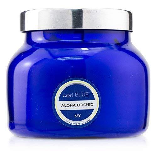 Capri Blue Aloha Orchid Blue Petite Signature Fragrances, 8 oz