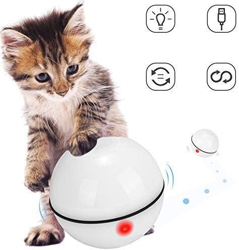 Juguetes para gatos, bola de gato interactiva inteligente,  juguete de ejercicio para gatos y perros 1
