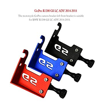 Soporte de Aluminio para c/ámara Frontal Izquierda para BMW R1200 GS LC ADV 14-18 ETbotu