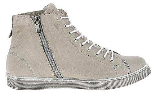 Andrea Conti 0341500 Scarpe Basse Da Donna Sneaker Alta Top Taupe