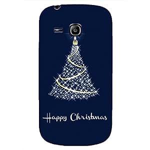 Phone Case Cover,Merry Chrismas Design Phone Case Cover For Samsung Galaxy S3 mini Phone Case