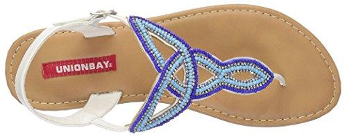 UNIONBAY Women's Solar Dress Sandal Blue/Multi 4Z0NOa