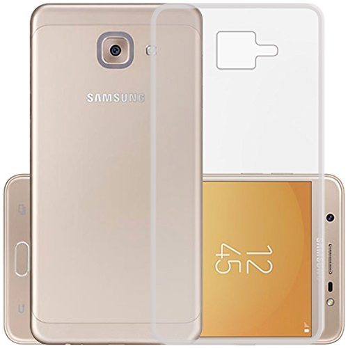 Casotec Soft TPU Back Case Cover for Samsung Galaxy On Max   Clear