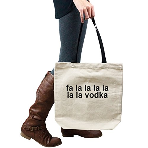 Funny Fa La La Vodka Alcohol Tote Handbag Shoulder Bag Purse