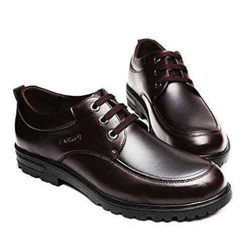 Negocio Hombres Zapatos Gtymfh Papá Ocio Cuero Transpirable Brown 46pCOOxwq5