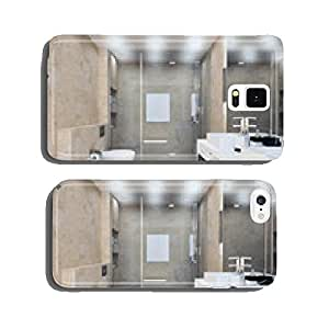 bathroom interior in bright colors cell phone cover case iPhone5