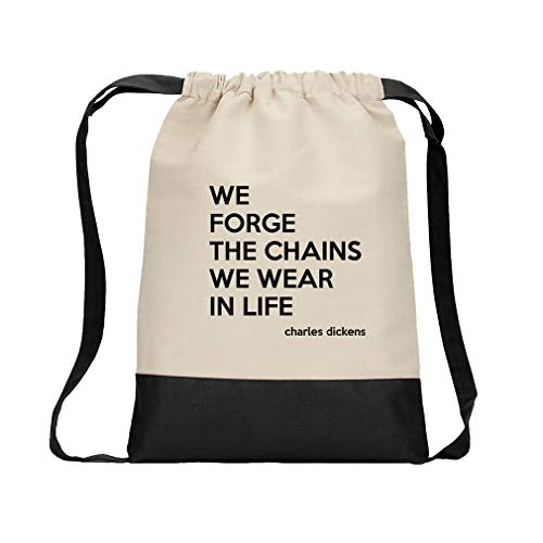 We Forge The Chains We Wear In Life  #1 Cotton Canvas Boys-G