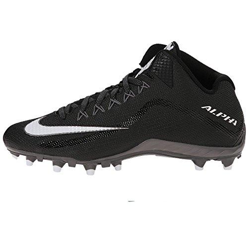 Alpha Sport Pro 11 Eu Cleats Football Td 2 D white Nike matte Uk Mens m 46 Black Silver Xgwc5