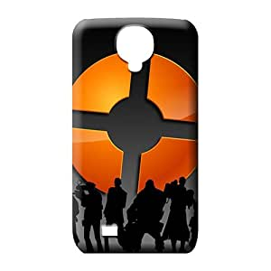 samsung galaxy s4 Durability Protector Scratch-proof Protection Cases Covers phone carrying cover skin silhouette team fortress 2
