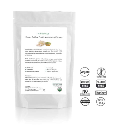 Natural plant based organic mushroom extract product image