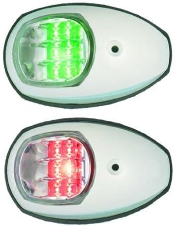 Osculati LED Positionsleuchte Navigationslicht Set Edelstahl V4A