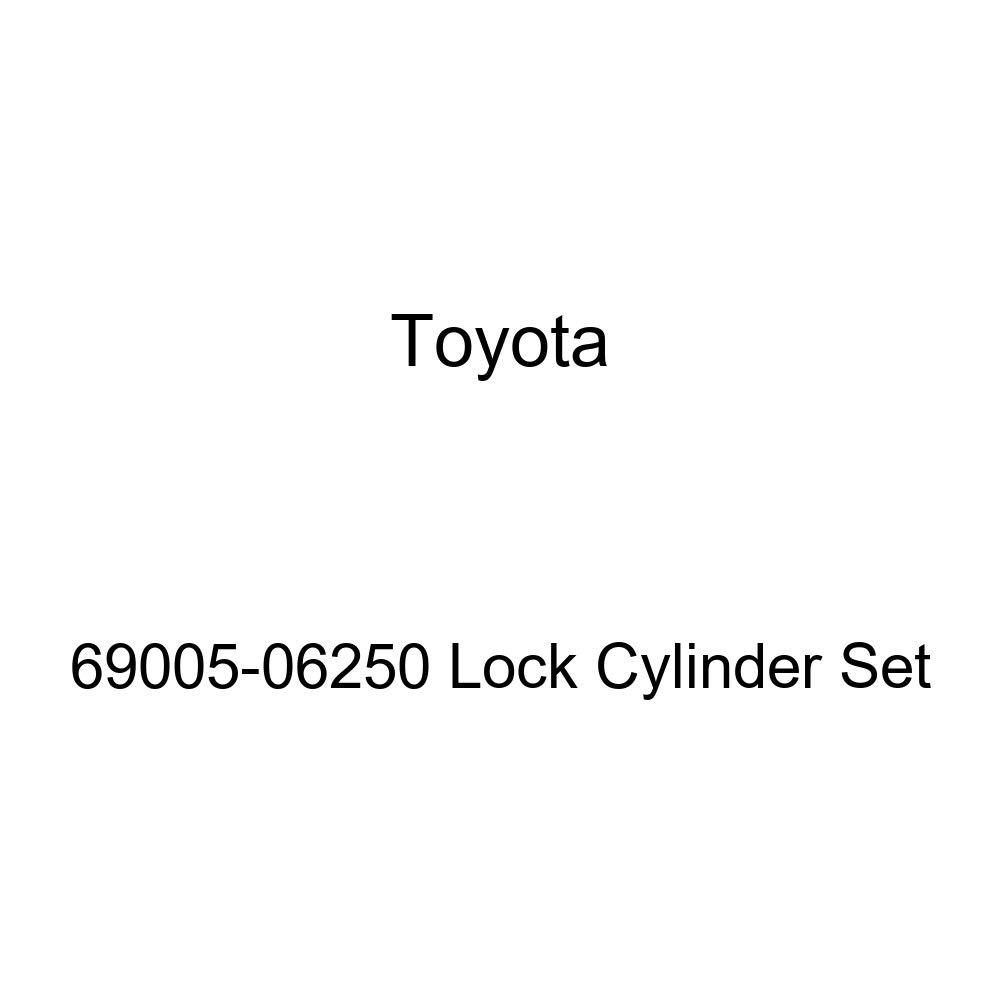 Genuine Toyota 69005-06250 Lock Cylinder Set