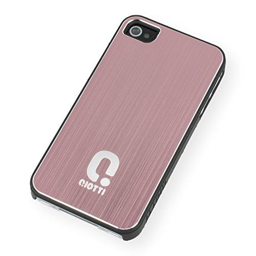 QIOTTI Q. à Alu snapcase Coque pour iPhone 4/4S–rose