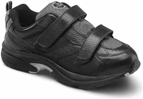 a6236b66ed73 Dr. Comfort Women s Spirit X Black Diabetic Athletic Shoes
