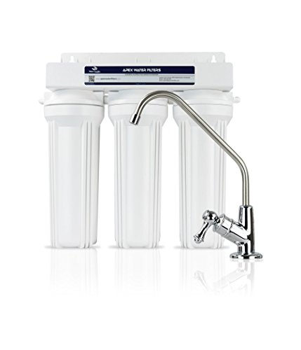 APEX MR-2032 Under the Counter Water Filter System – Alkaline