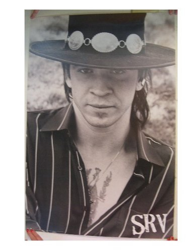 (Stevie Ray Vaughan Poster Vaughn Face Shot SRV)