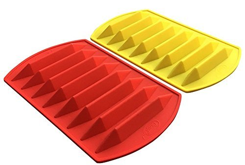 CrayOn 2 Double Tipped, Triangular Silicone Crayon Molds - Makes 16 Crayons (Total) by My Fruit Shack (Image #6)
