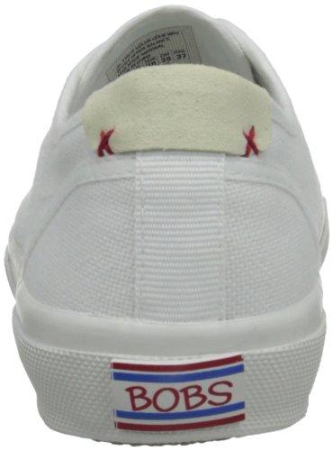 Skechers Dames Le Club Brentwood Veterschoen Sneaker Wit