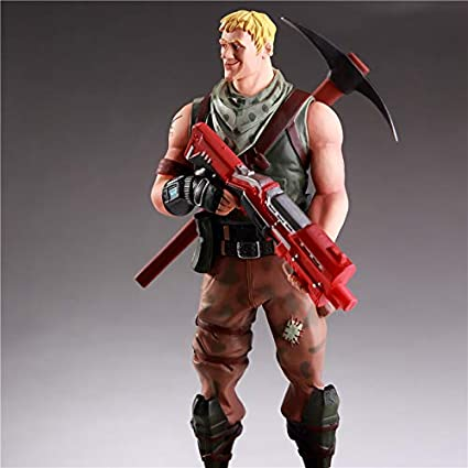 Amazon Com Ml Products Fortnight Figure Man With Gun And Pickax