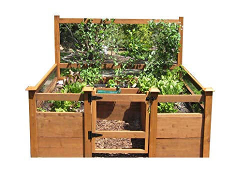 Just Add Lumber Vegetable Garden Kit  8#039x8#039 Deluxe