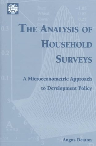 The Analysis of Household Surveys: A Microeconometric Approach to Development Policy (World Bank)