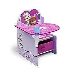 Delta Children Chair Desk With Storage Bin, Disney Frozen