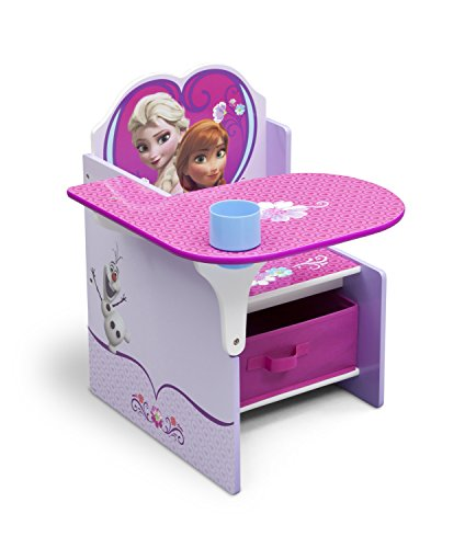 Delta Children Chair Desk With Storage Bin, Disney Frozen]()