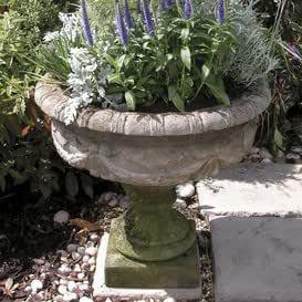 Jardín sueño Antiguo jardín maceta Ánfora – Yorkshire, color ocre: Amazon.es: Jardín