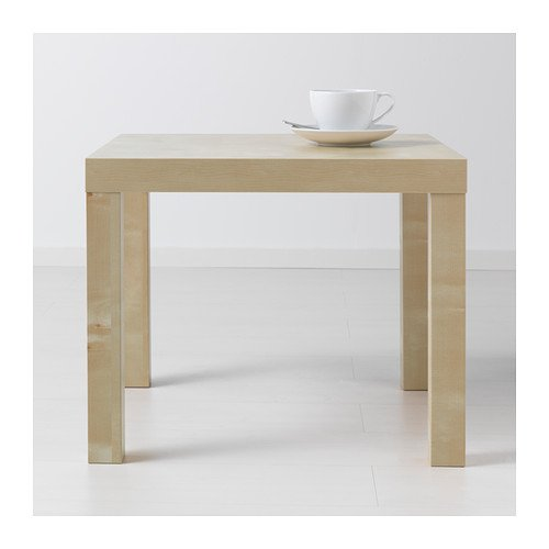 Lack Side Table, Birch Effect: Home