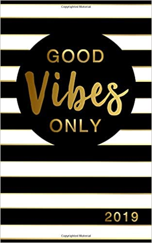 Good Vibes Only Weeklymonthly Planner With Inspirational Quotes 5
