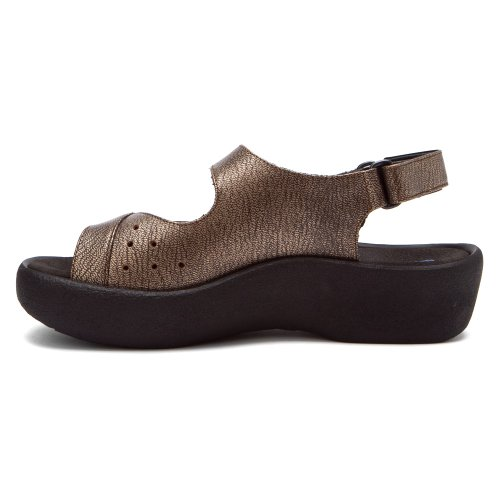 Leder 3204 Wolky Jewel Braun Sandals Leather Womens 20300 q7wBwxS0H