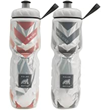 Polar Bottle 2 Pack Double Foil Insulated Water Bottle 24 Oz BPA Free Sports Squeeze Water Bottles