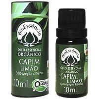 ÓLEO ESSENCIAL CAPIM LIMÃO ORGÂNICO/Cymbopogon citratus 10ml