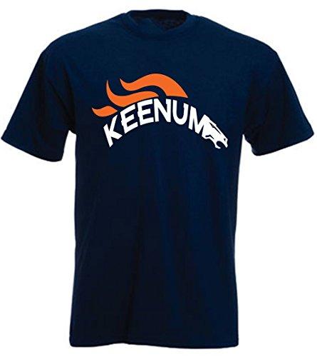 JM Shirts Navy Denver Keenum Logo T-Shirt Youth