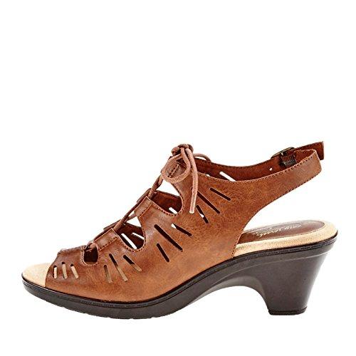 Easy Street Kvinners Kitt Kjole Sandal Kamel