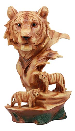 (Ebros Large Bengal Tiger Bust Statue 11.75
