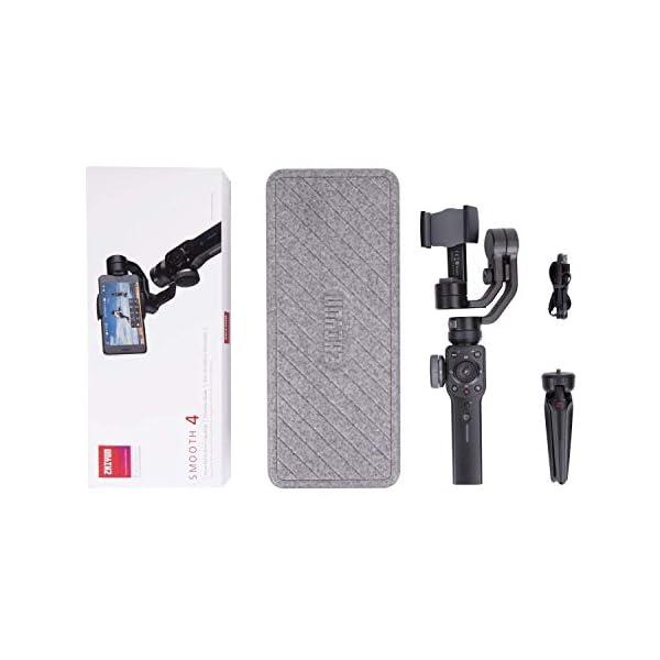 ZHIYUN SMOOTH 4 [UFFICIALE] Stabilizzatore Gimbal palmare a 3 assi per SmartPhone(con treppiede)-nero 6 spesavip