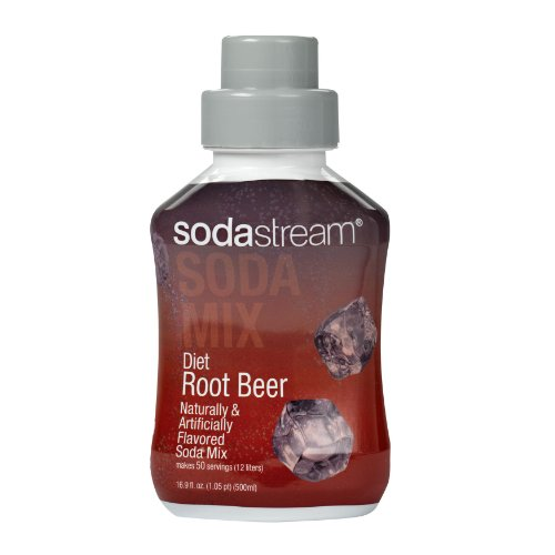 SodaStream Diet Root Beer Syrup, 500mL