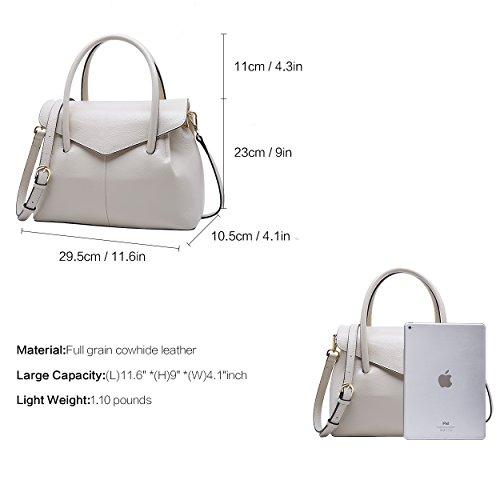 à sacs femmes Handle Top sac main sac tout Designer main en cuir les BOYATU Sacs à fourre pour Mesdames 5FqwH