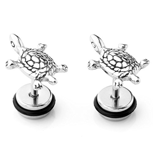 JOVIVI Stainless Turtle Cartilage Earrings