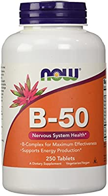 Now Foods B-50 Tablets, 250-Count