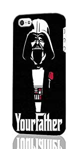 SUUER Darth Vader Star Wars iPhone 5C 3D Case , Designer Personalized Custom Plastic Hard CASE for iPhone 5C Durable New Style ROUGH Skin 3D Case Cover