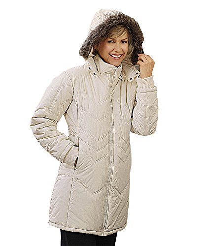 hooded quilted jacket - 6