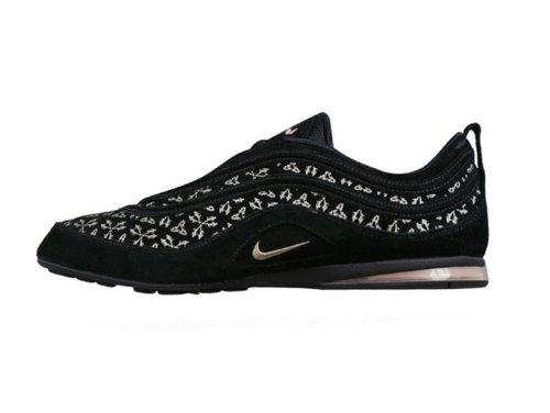 Trainers Size Eu 5 Shoes Air 44 Womens Black Nike Plata YfvtxA