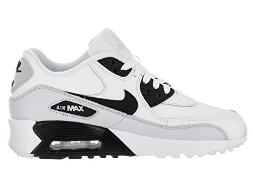 Nike Nike Air Max 90 Leather (Gs) Shoe - Zapatillas Unisex Niños weiss
